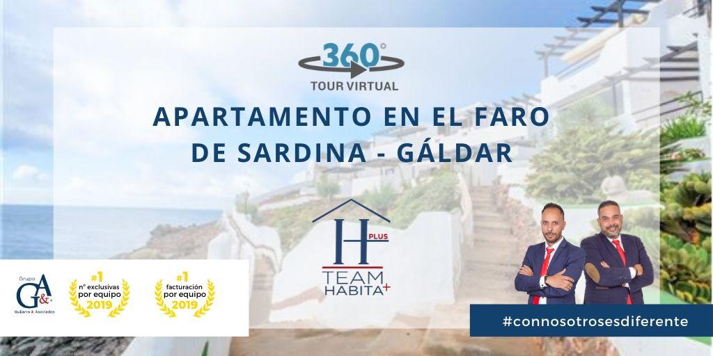 Apartamento en el Faro de Sardina de Gáldar