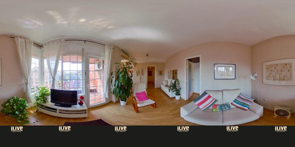 Luminoso piso en Eixample con terraza!