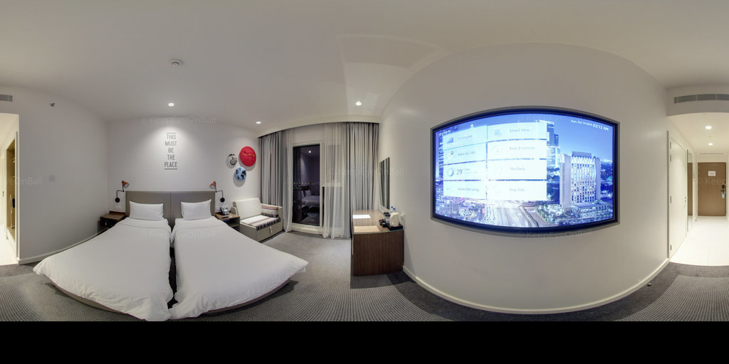 Rove Hotels Dubai Twin Room