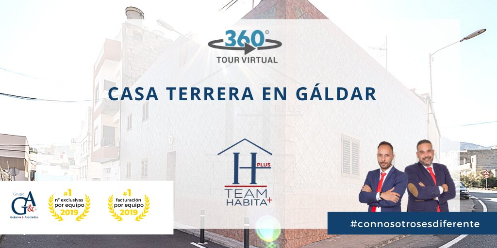 Vivienda + garaje para dos coches en Gáldar
