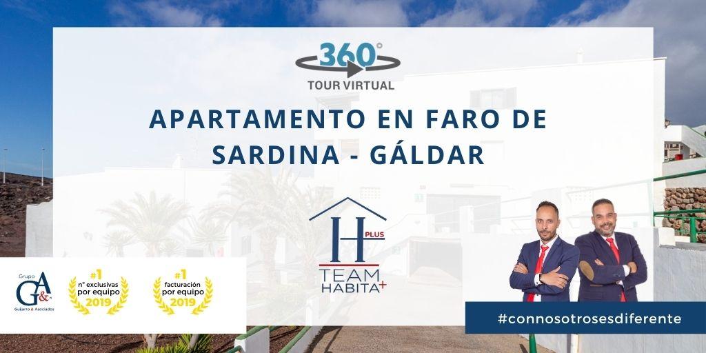 Apartamento en Faro de Sardina de Gáldar