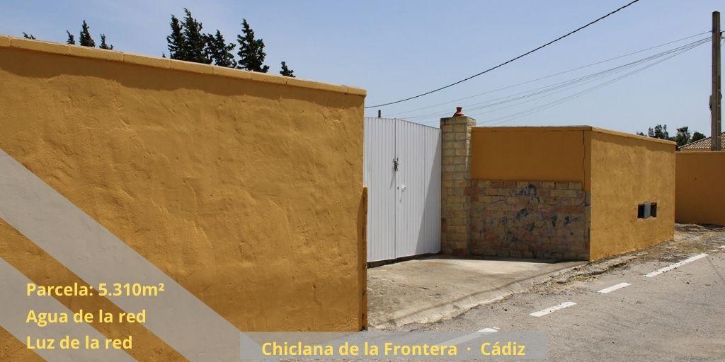 Terreno Camino de Mulhacén-Chiclana de la Frontera