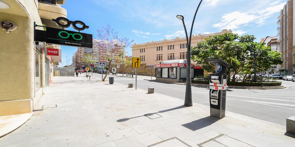 Calle Javier Sanz Almería