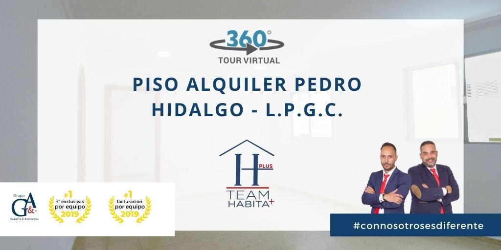 Piso en alquiler en Calle Pedro Hidalgo