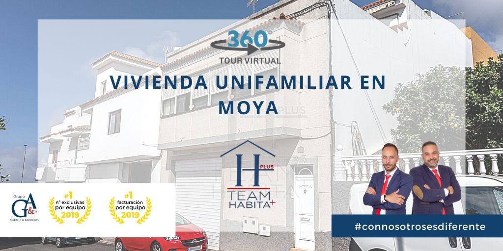 Vivienda unifamiliar en Moya