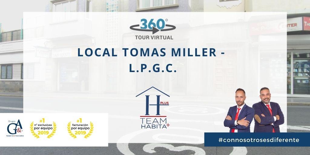 Local en alquiler en Calle Tomas Miller