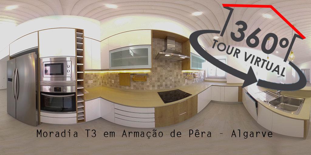 Moradia T3 Armação de Pêra - Algarve