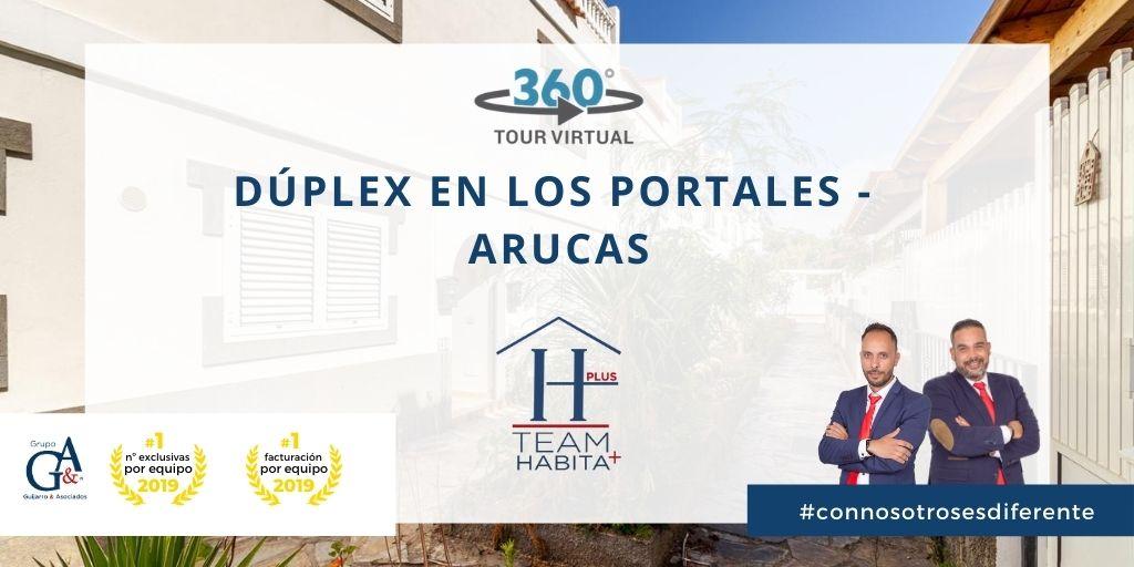 Dúplex en venta en Los Portales (Arucas)